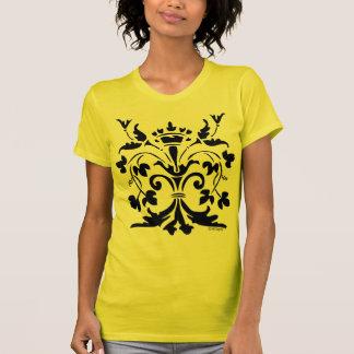 Unique Fleur de lis Queen Tshirt