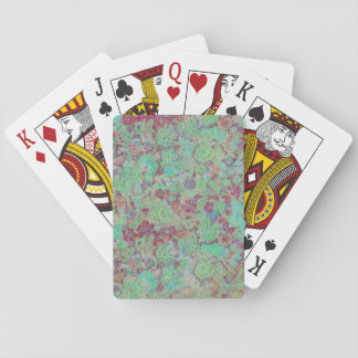 Unique floral print Playing cards