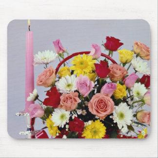 Unique Floral still life Mouse Pad