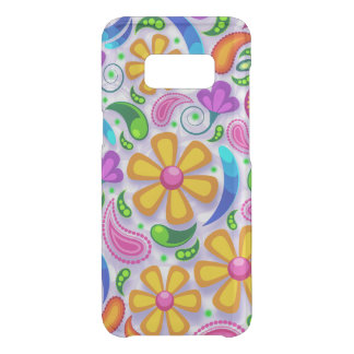 Unique Flower Pattern Uncommon Samsung Galaxy S8 Case