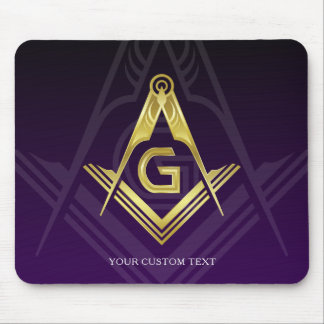Unique Freemason Gift Ideas | Personalized Masonic Mouse Mat