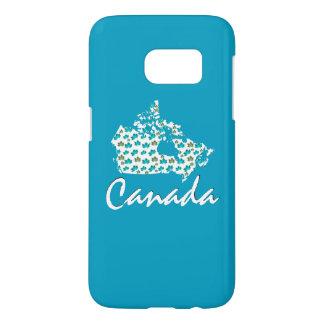 Unique fun Canadian  Canada phone case blue