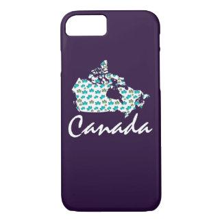 Unique fun Canadian Canada phone case purple