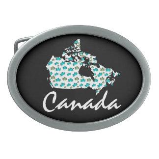 Unique fun Canadian Maple Canada  belt buckle