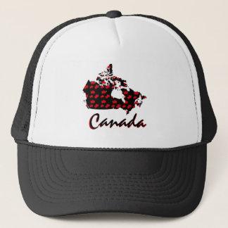 Unique fun Canadian red Maple Canada  hat