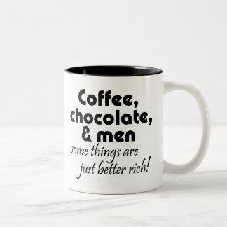 Unique funny womens birthday gifts humor jokes Two-Tone mug