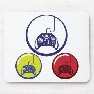Unique Game Controller Icon Vector Art Mouse Pad