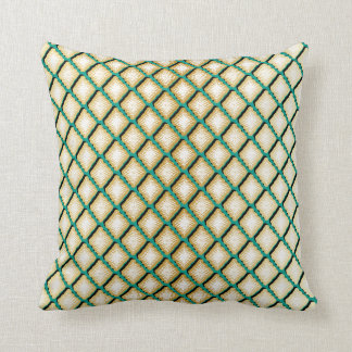 Unique Geometric Diamond Design Cushion