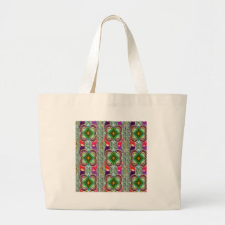 Unique geometrical n graphical pattern art gifts jumbo tote bag