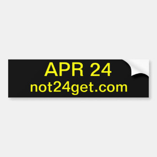 Unique Gifts (date can be changed) Bumper Sticker