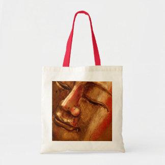Unique Golden Buddha Designs Budget Tote Bag