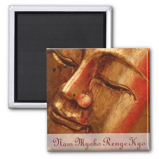 Unique Golden Buddha Designs Magnet