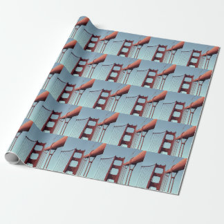 Unique Golden Gate Bridge, San Francisco Photo Wrapping Paper
