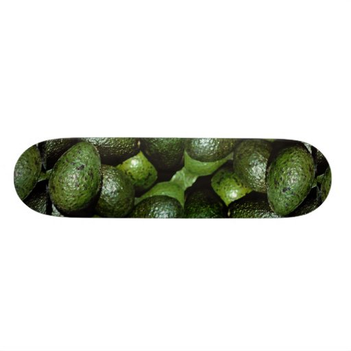 Unique Green avocado Skateboards