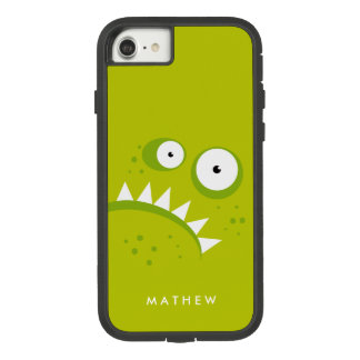 Unique Grumpy Angry Funny Scary Green Monster Case-Mate Tough Extreme iPhone 8/7 Case