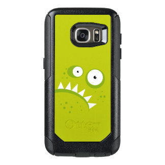 Unique Grumpy Angry Funny Scary Green Monster OtterBox Samsung Galaxy S7 Case