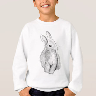 Unique Hand Drawn Bunny Sweatshirt