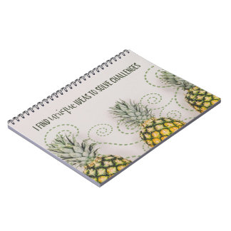 Unique Ideas To Solve Challenges Notebook