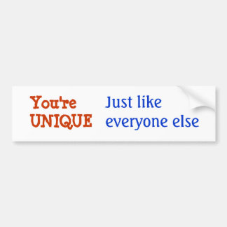 UNIQUE Inspiration Motivation Wisdom Words Bumper Sticker