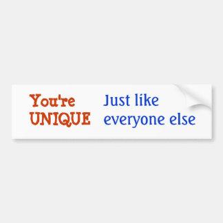 UNIQUE Inspiration Motivation Wisdom Words Bumper Sticker
