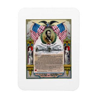 Unique Lincoln Emancipation Proclamation Rectangular Photo Magnet
