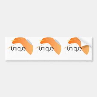 Unique Love Image Bumper Sticker