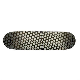 Unique Metal With Holes Skate Deck