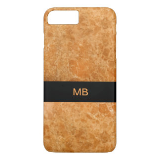 Unique Modern Monogram Style iPhone 8 Plus/7 Plus Case