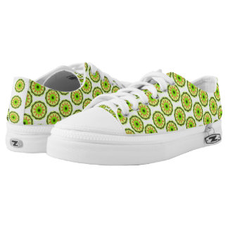 Unique modern trendy pattern low tops