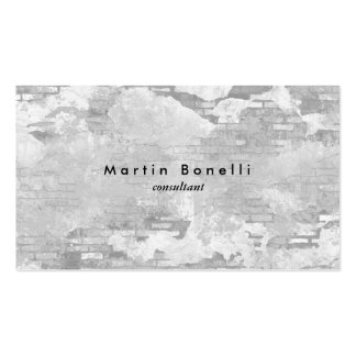 Unique Modern Wall Minimalist Plain Simple Pack Of Standard Business Cards