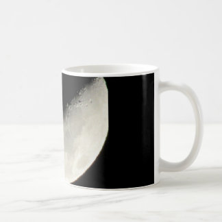 Unique moon on a coffee mug