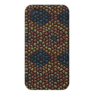 Unique mosaic tile case for iPhone 4