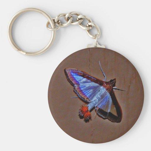 Unique Moth Keychain
