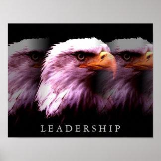 Unique Motivational Leadership Eagle Poster