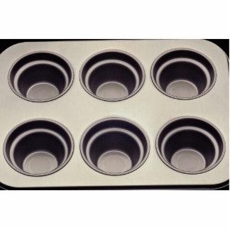 Unique Muffin pan Standing Photo Sculpture