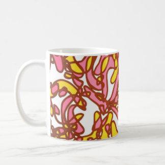 Unique mug with funky design