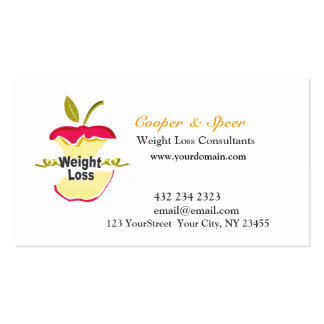 Unique Original Dietitian Nutritionist Business Pack Of Standard Business Cards