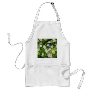 Unique Oxeye Daisy design on your cool gift Standard Apron