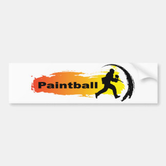 Unique Paintball Bumper Sticker