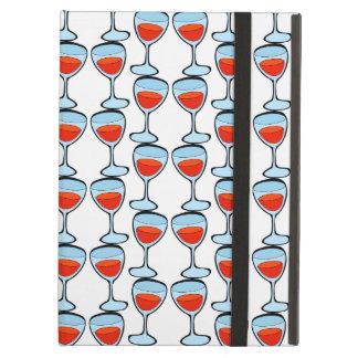 UNIQUE  Pattern glass of wine iPad Case