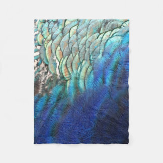 Unique Peacock Feather Blanket