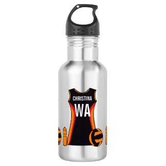 Unique Personalised Netball 532 Ml Water Bottle