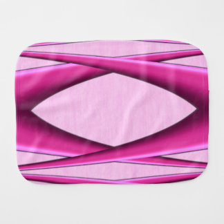 Unique Pink Pattern Burp Cloth