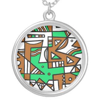 Unique Powerful Glamorous Good Round Pendant Necklace