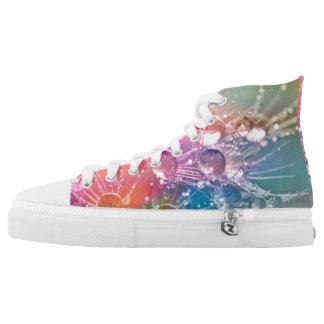 Unique Rainbow Drop of Water Shoes