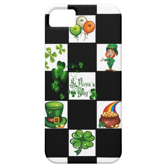 Unique Retro St. Patrick's Day iPhone 5 Cover