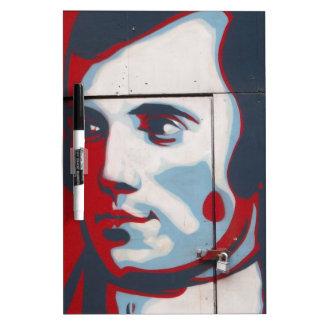 Unique Robert Burns Street Art! Dry Erase Board