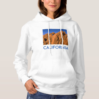 Unique rock formation, California Hoodie