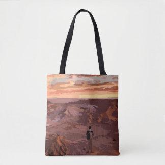 Unique Rocky Landscape Bag