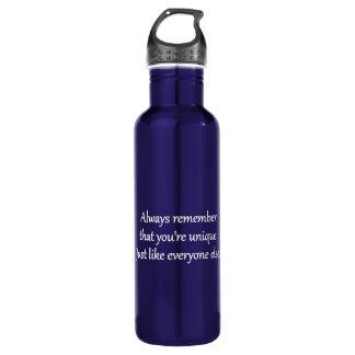 Unique - Sarcastic Zen Phrase 710 Ml Water Bottle